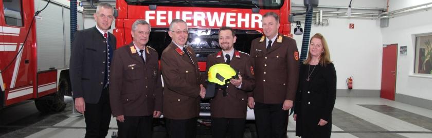 Feuerwehr Pfarrwerfen unter neuem Kommando