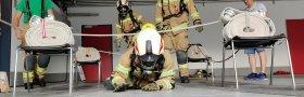 Umrüstung der Atemschutzgeräte auf Überdrucksystem und ÖFAST